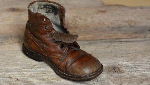 Stein im Schuh